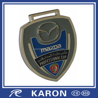 die casting custom medal restoration for car sponsored event