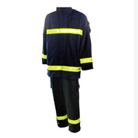 safety reflective tape uniform for firefighter