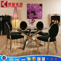 stainless steel dinning chair