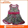 New Design Pet Dog Printing Dress Clothes High Quality Apparel