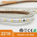 22016 120D 3.5mm pcb flexible led rope light 110-130V