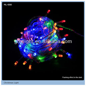 Colorful Twinkle LED Christmas Lights For Christmas Decoration