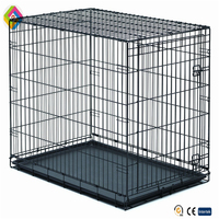 Folding wire cages small dog cages pet display cage