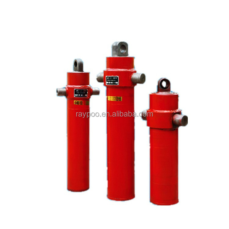 hydraulic telescope cylinder two stages hydraulic cylinder