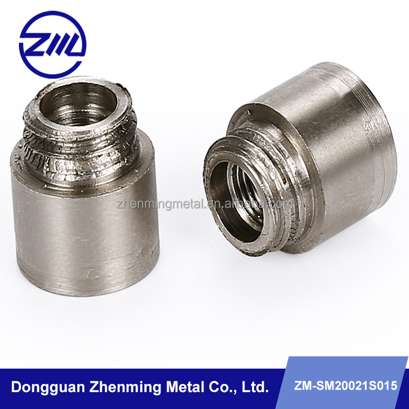 spare parts mobile phone camera metal parts Dongguan factory make CNC lathe parts