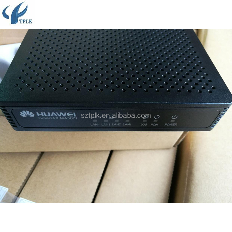Brand new Original Hua wei SmartAX MA5670 Series MA5671 GPON Multi-Service Access Equipment,4GE ports GPON ONU with metal case