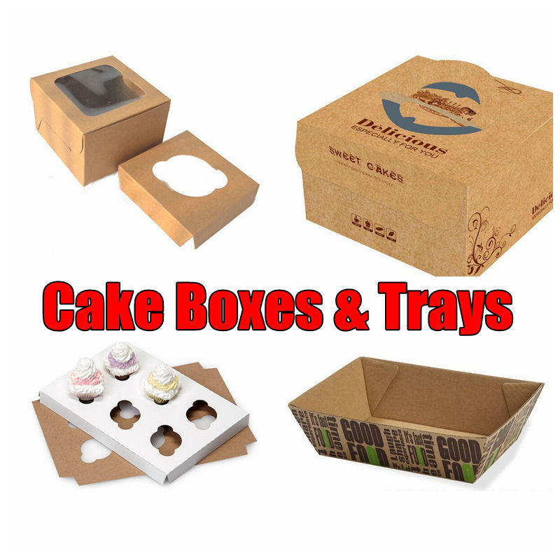 Paper Box Cup Cake, Cheap Printing Packaging Box Manufacturer