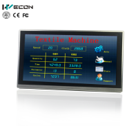 Wecon 15 inch industrial compact hmi Supported WIFI and replaced weintek hmi