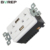 TR-BAS20-2USB Industrial electrical plug hot sale gfci standard outlet