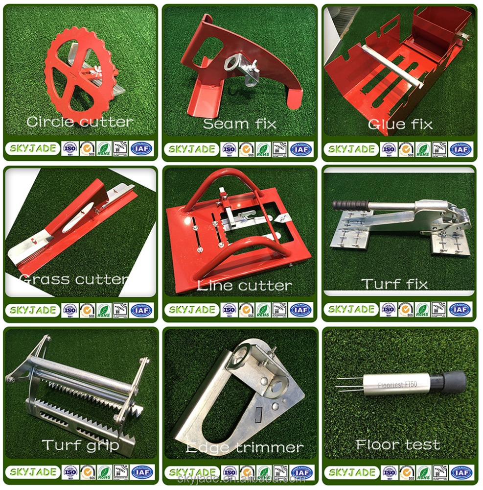 Hot sale practical nine pieces artificial turf grass installation tools