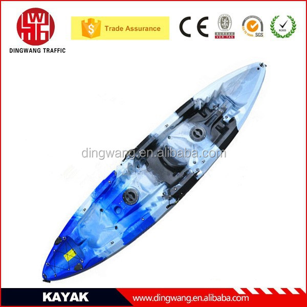 2015 Popular Plastic 3 Person sit on top Fishing Family Kayak