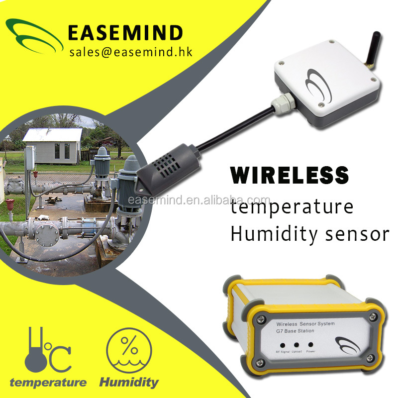 wireless temperature and humidity sensor online Monitoring <strong>System</strong>