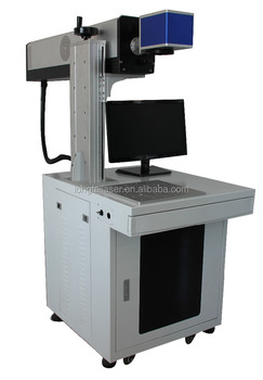 30w 50W RF metal tube co2 laser marking machine for nonmetal