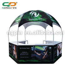 2018 China round promotion canvas dome tent
