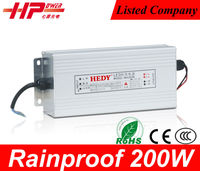 Factory CE RoHS constant voltage single output 200w 8.5a 24v switching rainproof 30w 60w 80w 100w 200w 350w led power supply
