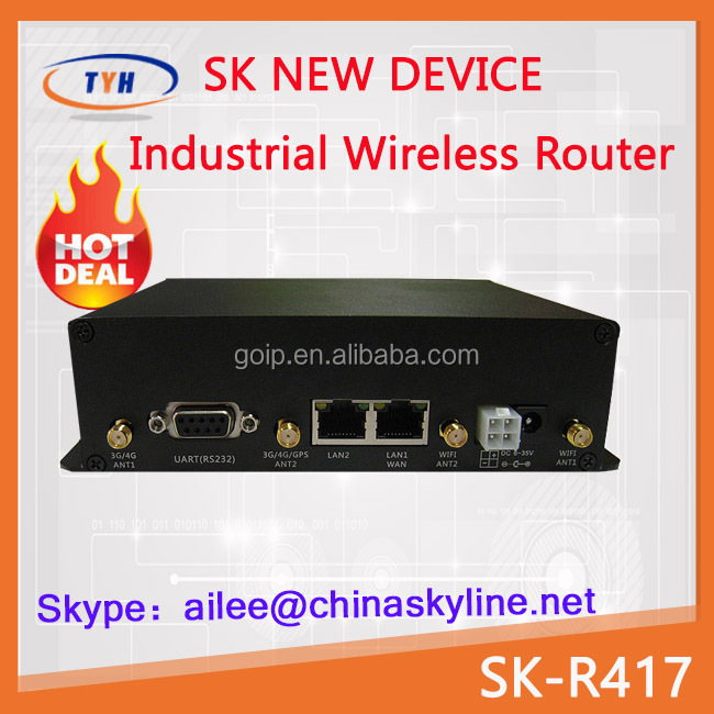 Supporting server and customer end mode 4g vpn router 4g router wifi industrial router
