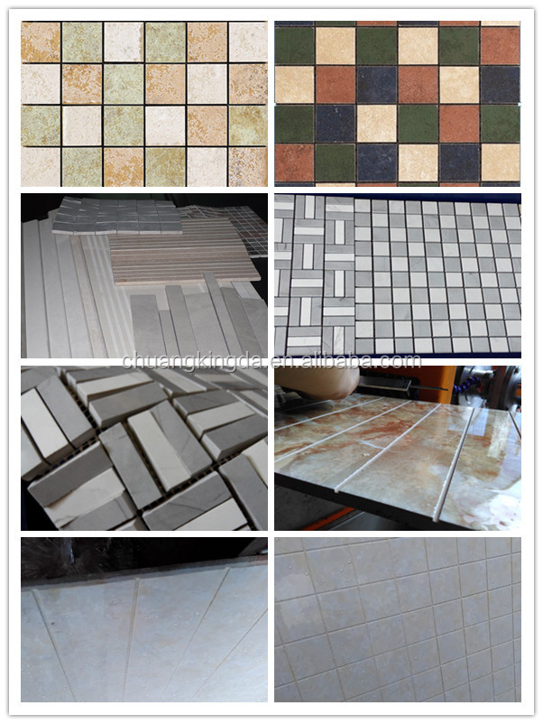 Polishing ceramic tile