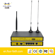 3G Industrial Wireless Dual SIM Card Load Balance 4 wan port router