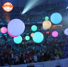 Inflatable LED mini crowd balloon/Zygotes Interactive Lighting Balls/led balloon lights for wedding stage decoration