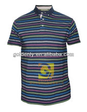 2012 new design mens casual polo shirt 100% cotton
