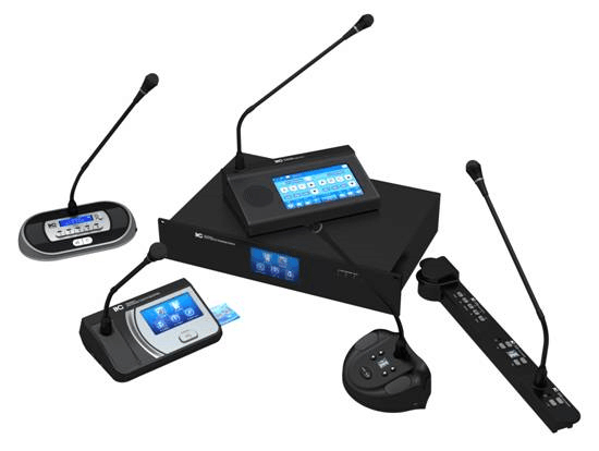 Professional voting discussion digital audio conference system for conference project