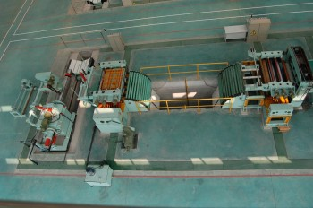 hot rolled steel coil slitting/ cutting line machine