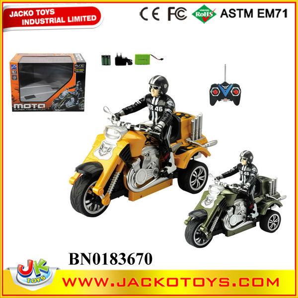 1:10 SCALE 4 CH RC Toys Radio Control Mini Motorcycle Toy