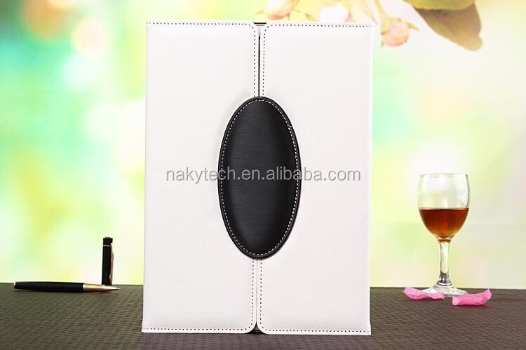 Stand smart slim pu leather case for Samsung tablet
