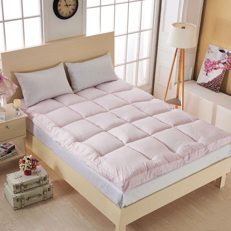 soft white goose down filled mattress pad/mattress topper - Jozy Mattress | Jozy.net