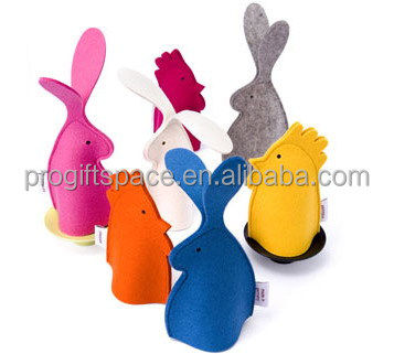 2017 newest fashion hotsale eco friendly cheap wholesale funny toys felt kids animal hand puppets for Easter Day made in China
