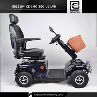fast deluxe rascal BRI-S01 electric battery operated three wheel vehicle