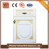 Trending hot products pvc membrane kitchen cabinet door from alibaba china