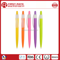 High Quality Custom Logo Metal Promotional Plastic Ball Pen