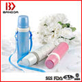 New design stainless steel bullet vacuum flask with new design stopper