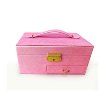 China import direct cheap price jewelry box with drawer