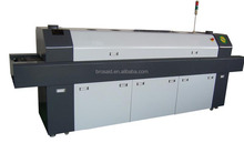 6 zones lead-free reflow oven smt for making led light heating zones reflow soldering oven