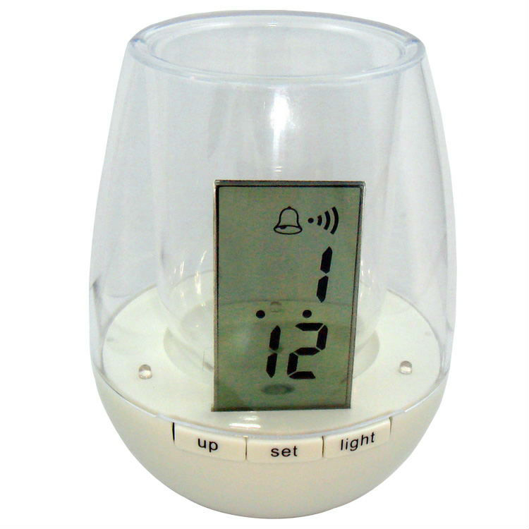 Factory promotional mini digital clock pen