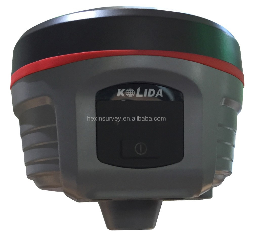 Kolida K5 Plus dual-frequency rtk gps, supports a wide range of satellite signals cheap gnss receiver