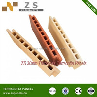 ZS exterior wall siding panel, outside wall decorative tile, terracotta wall tile