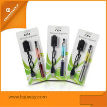 Bauway (LR/NR) blister CE-4 clearomizer safe smoke electronic cigarette
