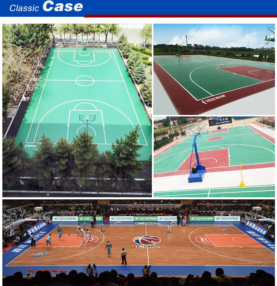 Indoor PVC Vinyl Sports Floor