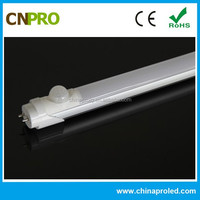 CE ROHS PIR Motion Sensor 18W 1200mm T8 LED Tube for Car Parking Lots 3 Years warranty