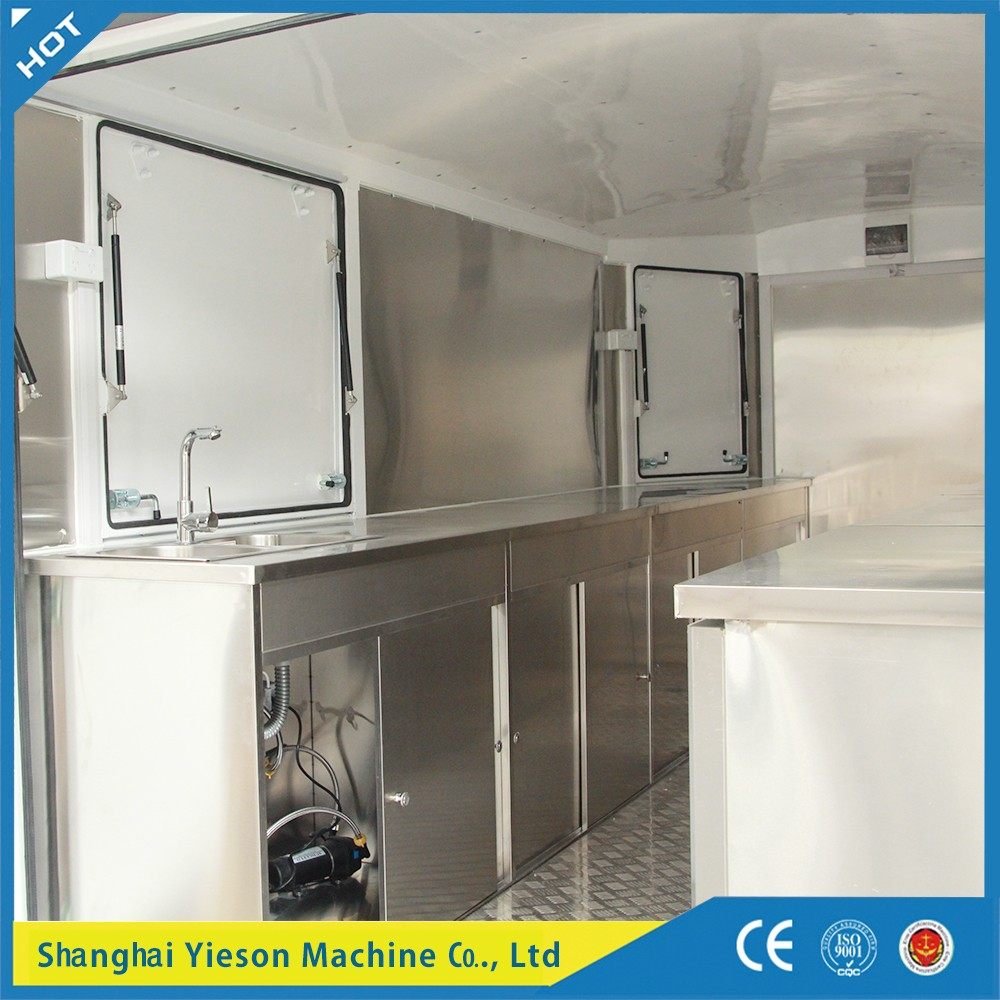YS-FW450 mobile canteen van food van for sale