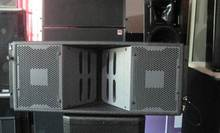 12 inch passive and active line array speaker box/living sound line array system for outdoor stage