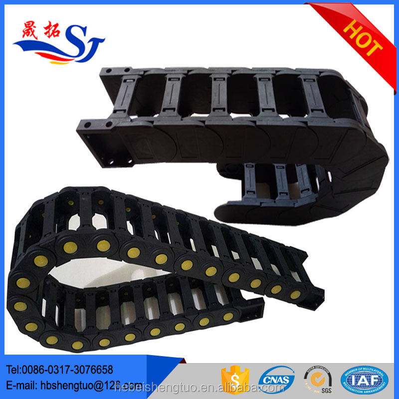 Flexible Wire Track : Cnc plastic wireway cable drag chain buy
