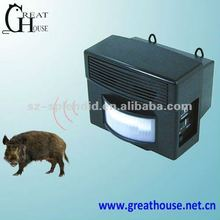 Patent variable ultrasonic pig repeller