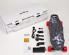 CE certifications led light street cruiser electric skateboard