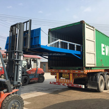 Warehouse used hydraulic system dock ramp mobile container loading ramp