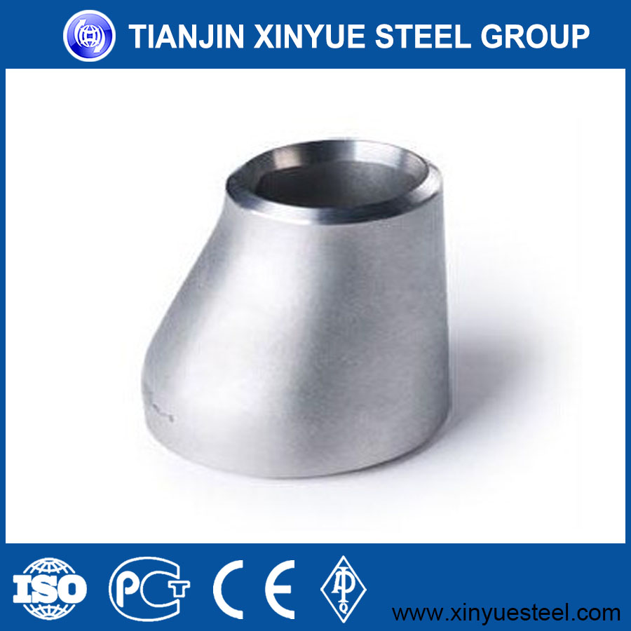 Stainless steel reducer pipe fitting with good quality