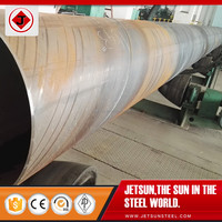 High Quality DB - API 5L Steel Pipe, X60, X65 Welded Line Pipe, ERW, SAW, LSAW, SSAW Bare / Black Painted